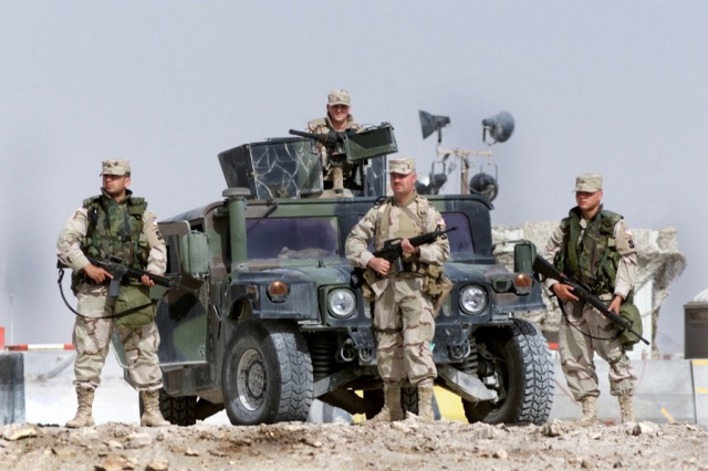 HUMVEE Military Vehicle