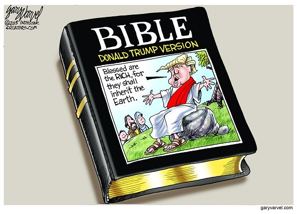 Cartoonist Gary Varvel: The Donald Trump version of the Bible
